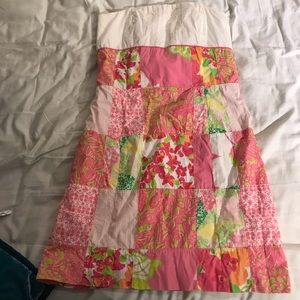 lilly patchwork dress